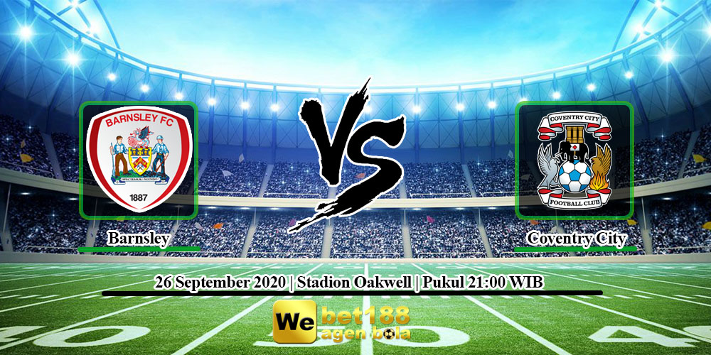 Prediksi Skor Barnsley Vs Coventry City 26 September 2020