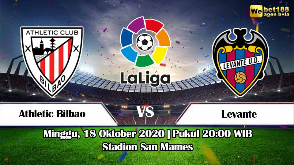 Prediksi Bola Athletic Bilbao vs Levante 18 Oktober 2020