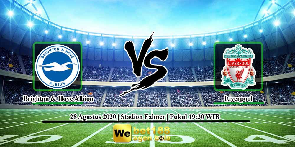Prediksi Skor Brighton & Hove Albion vs Liverpool 28 November 2020